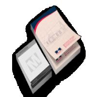 Bloco para Anotações Reciclado 90g 15x21 / 4x4